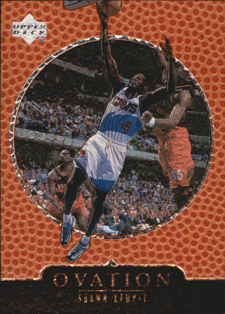 1998-99 Upper Deck Ovation #11 Shawn Kemp