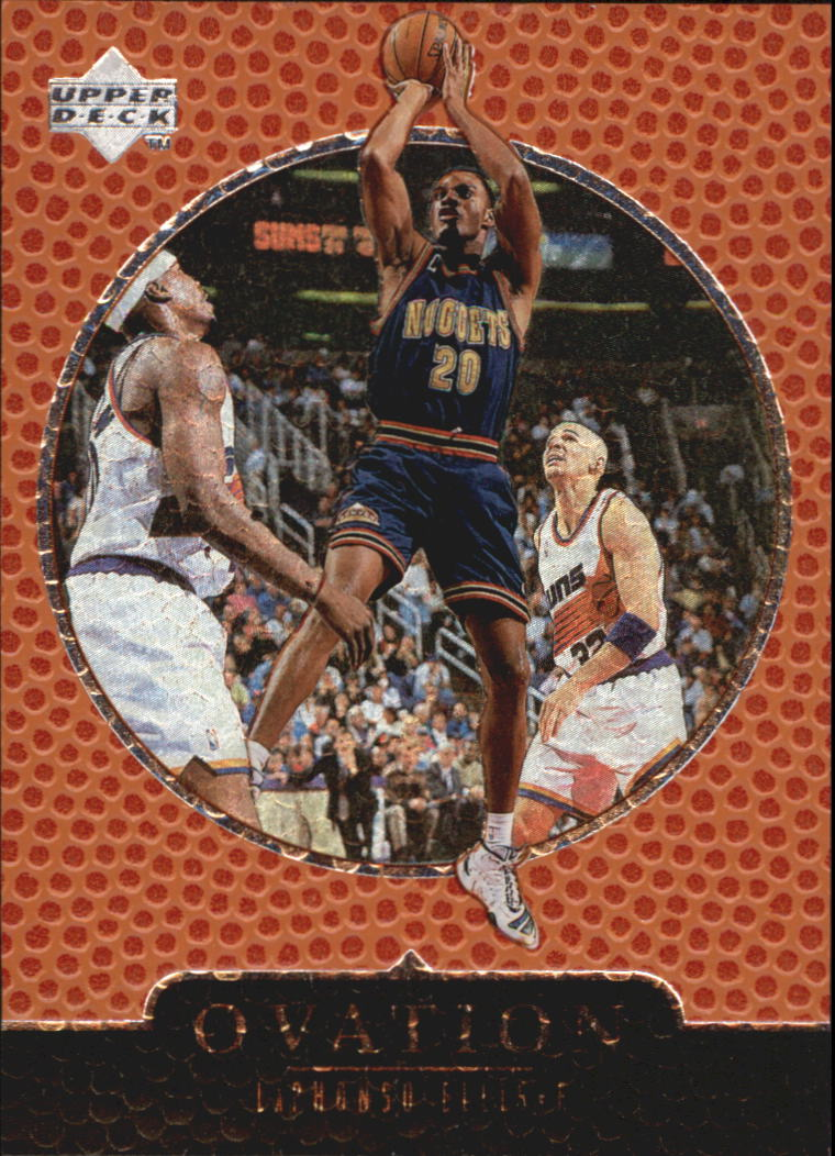 1998-99 Upper Deck Ovation #16 LaPhonso Ellis