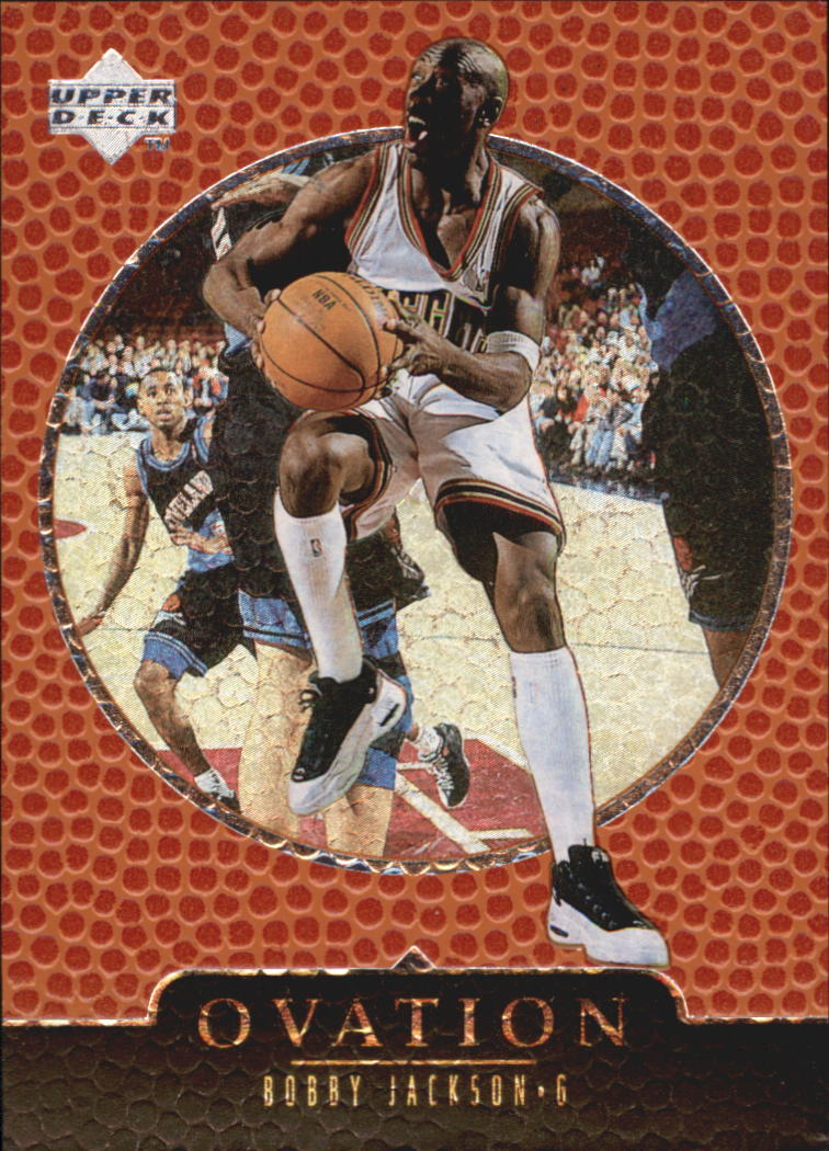 1998-99 Upper Deck Ovation #17 Bobby Jackson