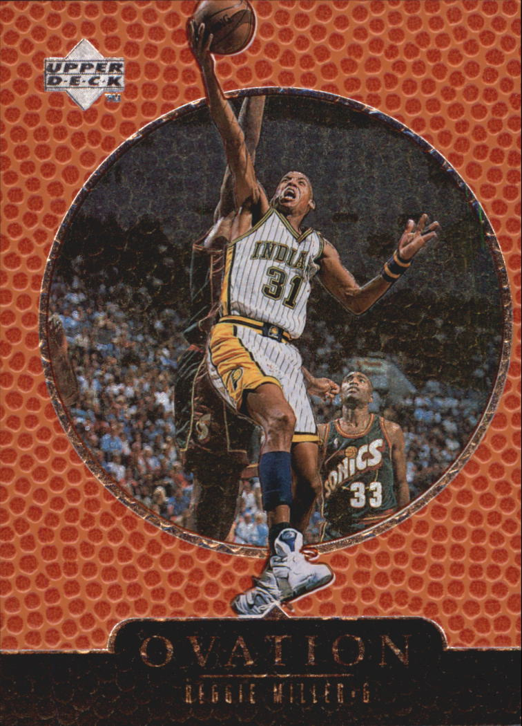 1998-99 Upper Deck Ovation #24 Reggie Miller