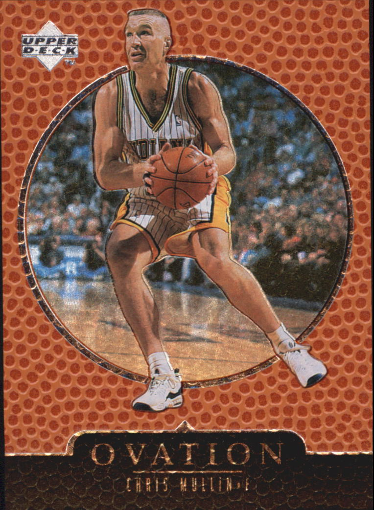 1998-99 Upper Deck Ovation #25 Chris Mullin
