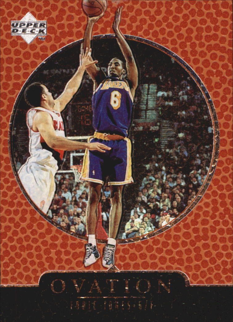 1998-99 Upper Deck Ovation #30 Eddie Jones