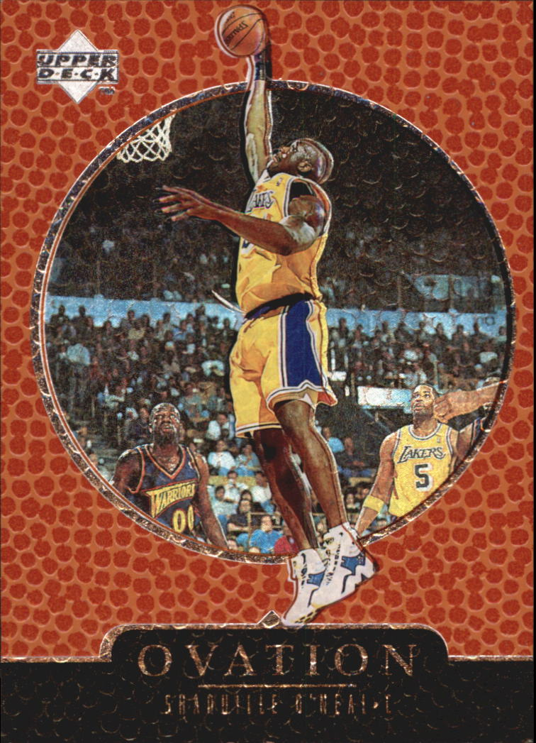 1998-99 Upper Deck Ovation #31 Shaquille O'Neal