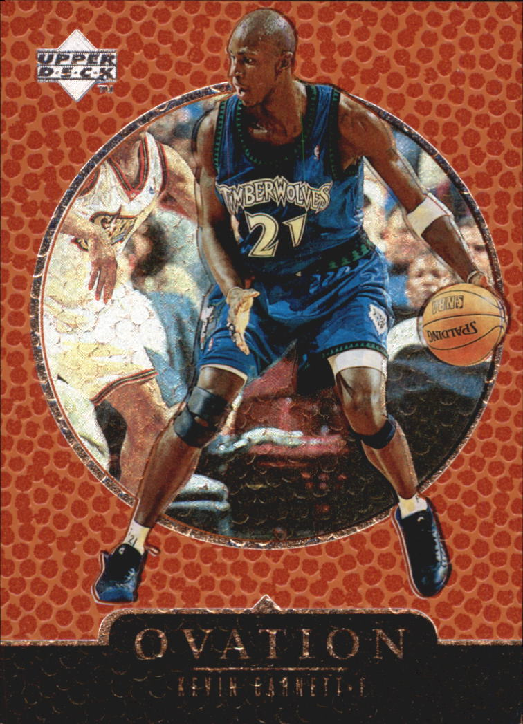 1998-99 Upper Deck Ovation #38 Kevin Garnett