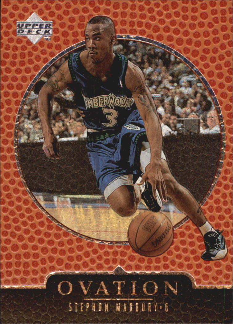 1998-99 Upper Deck Ovation #40 Stephon Marbury