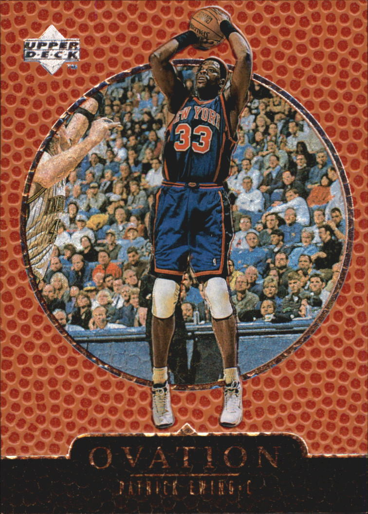 1998-99 Upper Deck Ovation #44 Patrick Ewing