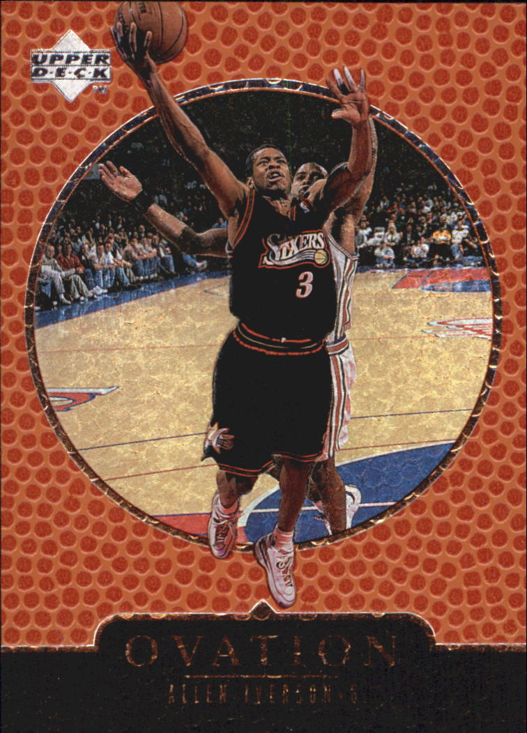1998-99 Upper Deck Ovation #49 Allen Iverson