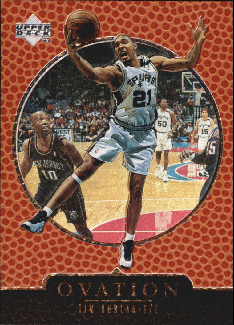 1998-99 Upper Deck Ovation #59 Tim Duncan