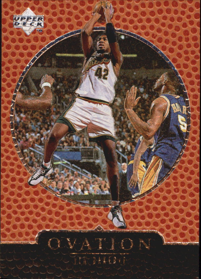 1998-99 Upper Deck Ovation #61 Vin Baker