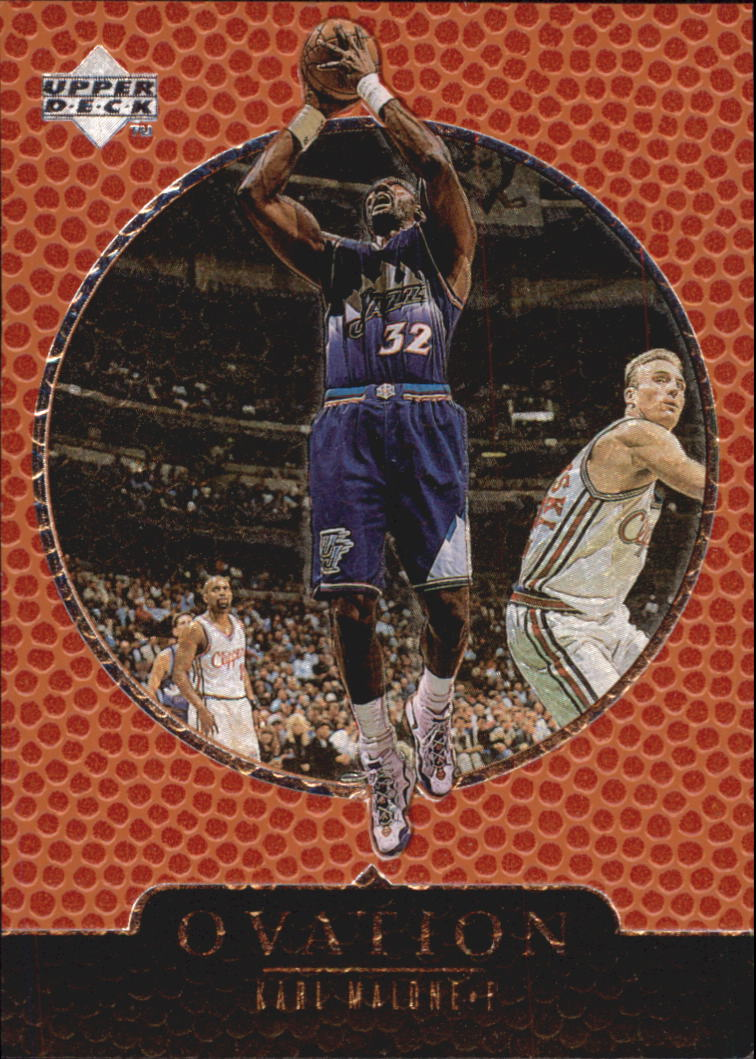 1998-99 Upper Deck Ovation #65 Karl Malone