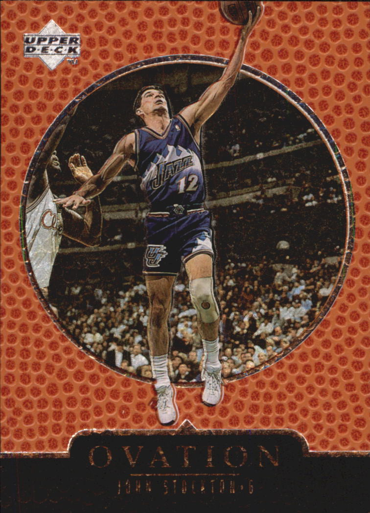 1998-99 Upper Deck Ovation #66 John Stockton