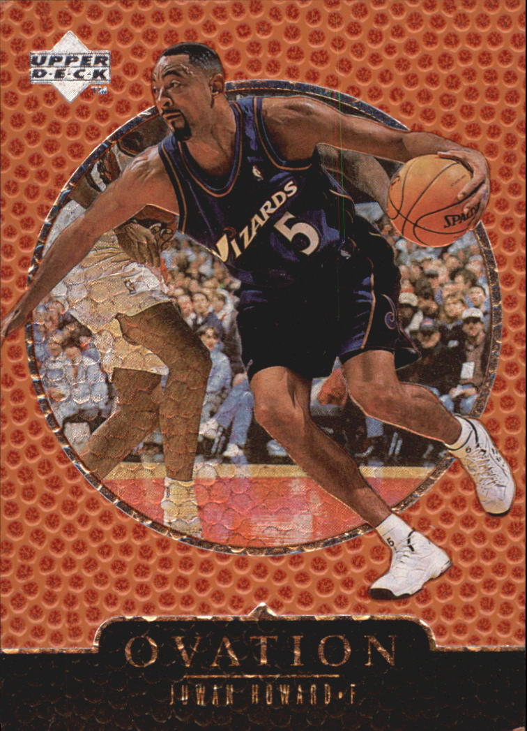 1998-99 Upper Deck Ovation #69 Juwan Howard