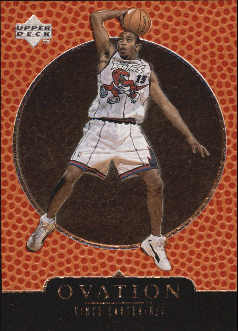 1998-99 Upper Deck Ovation #75 Vince Carter RC