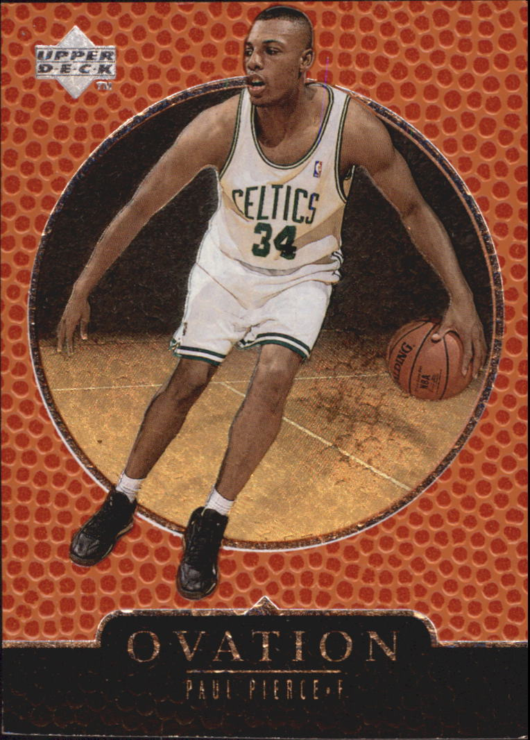 1998-99 Upper Deck Ovation #80 Paul Pierce RC