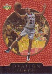 1998-99 Upper Deck Ovation Gold #59 Tim Duncan