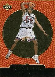 1998-99 Upper Deck Ovation Gold #75 Vince Carter