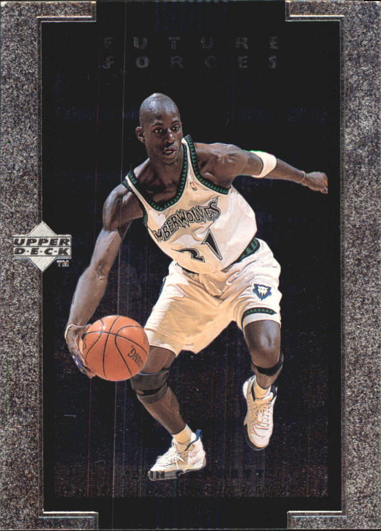 1998-99 Upper Deck Ovation Future Forces #F7 Kevin Garnett