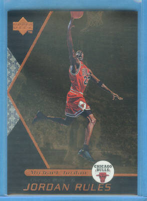 1998-99 Upper Deck Ovation Jordan Rules #J1 Michael Jordan