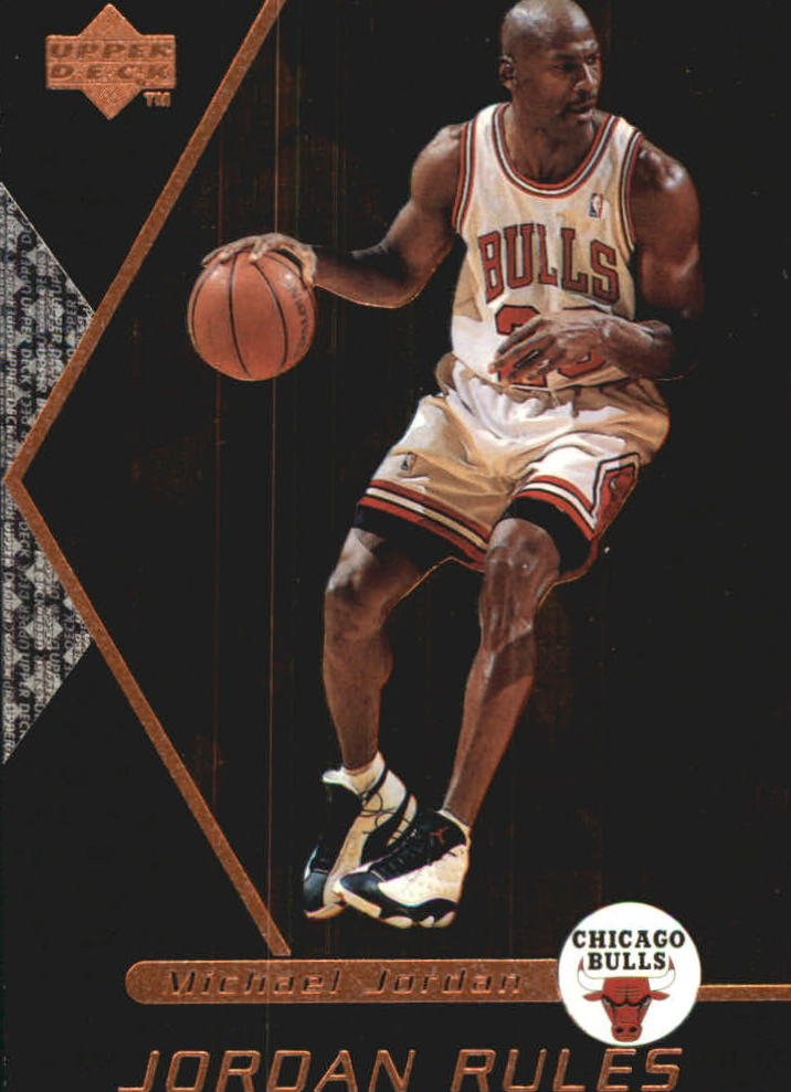 1998-99 Upper Deck Ovation Jordan Rules #J3 Michael Jordan