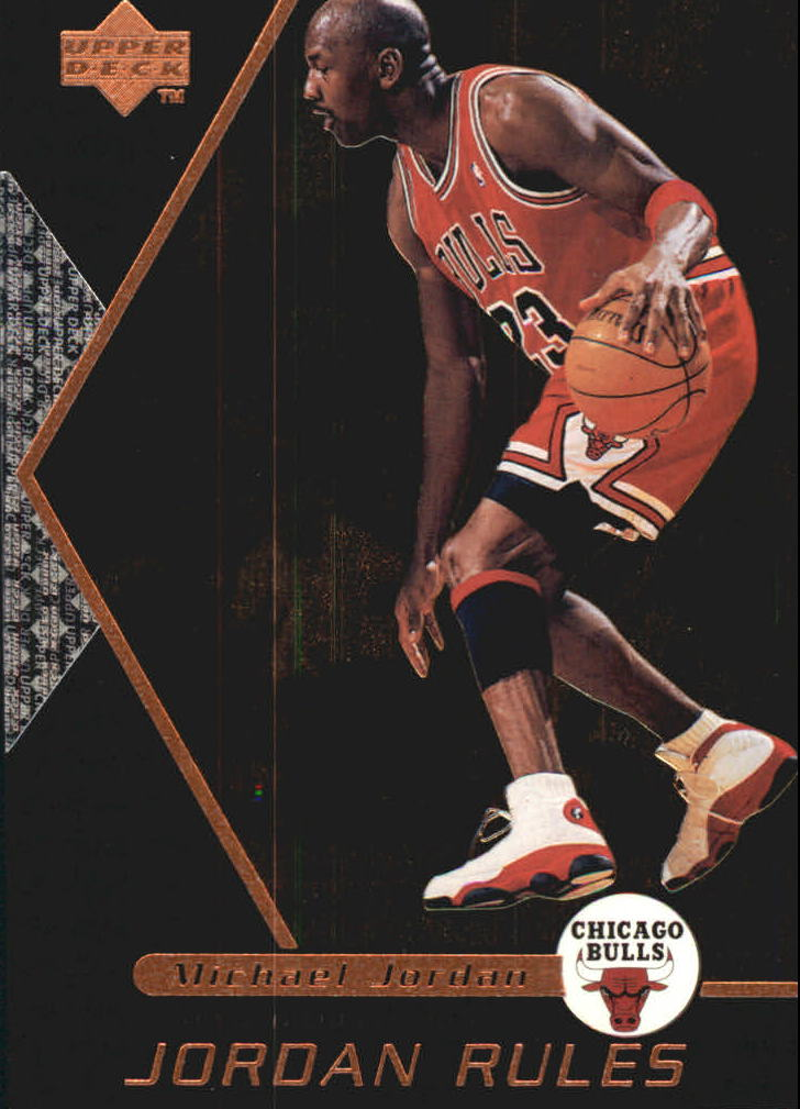 1998-99 Upper Deck Ovation Jordan Rules #J4 Michael Jordan