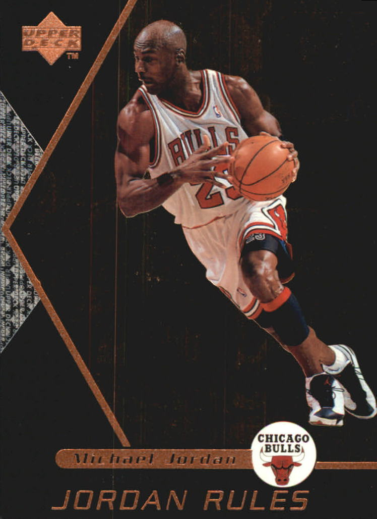 1998-99 Upper Deck Ovation Jordan Rules #J5 Michael Jordan