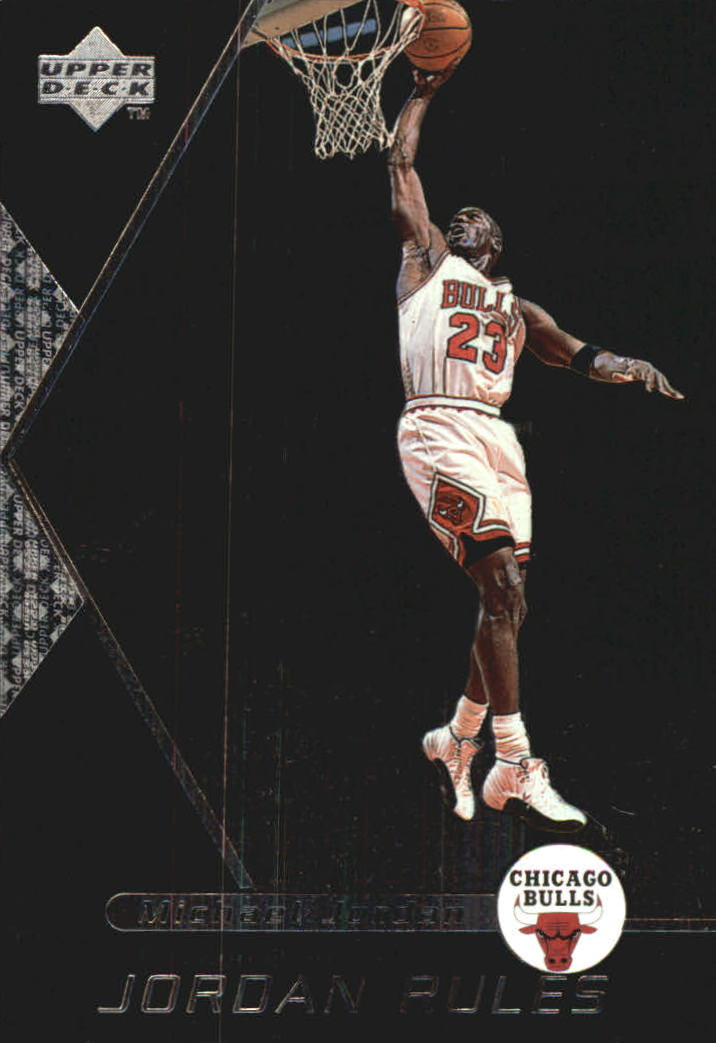 1998-99 Upper Deck Ovation Jordan Rules #J8 Michael Jordan