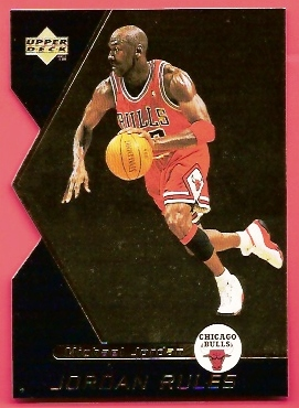 1998-99 Upper Deck Ovation Jordan Rules #J12 Michael Jordan