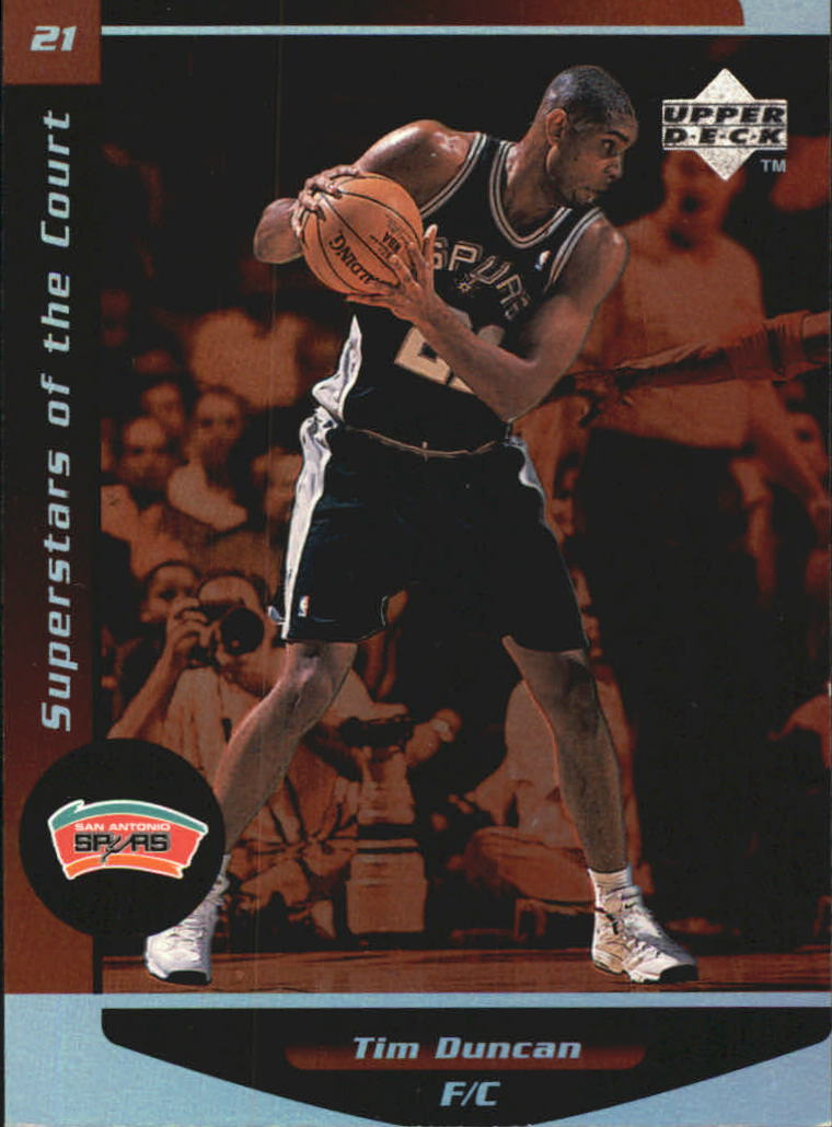 1998-99 Upper Deck Ovation Superstars of the Court #C2 Tim Duncan