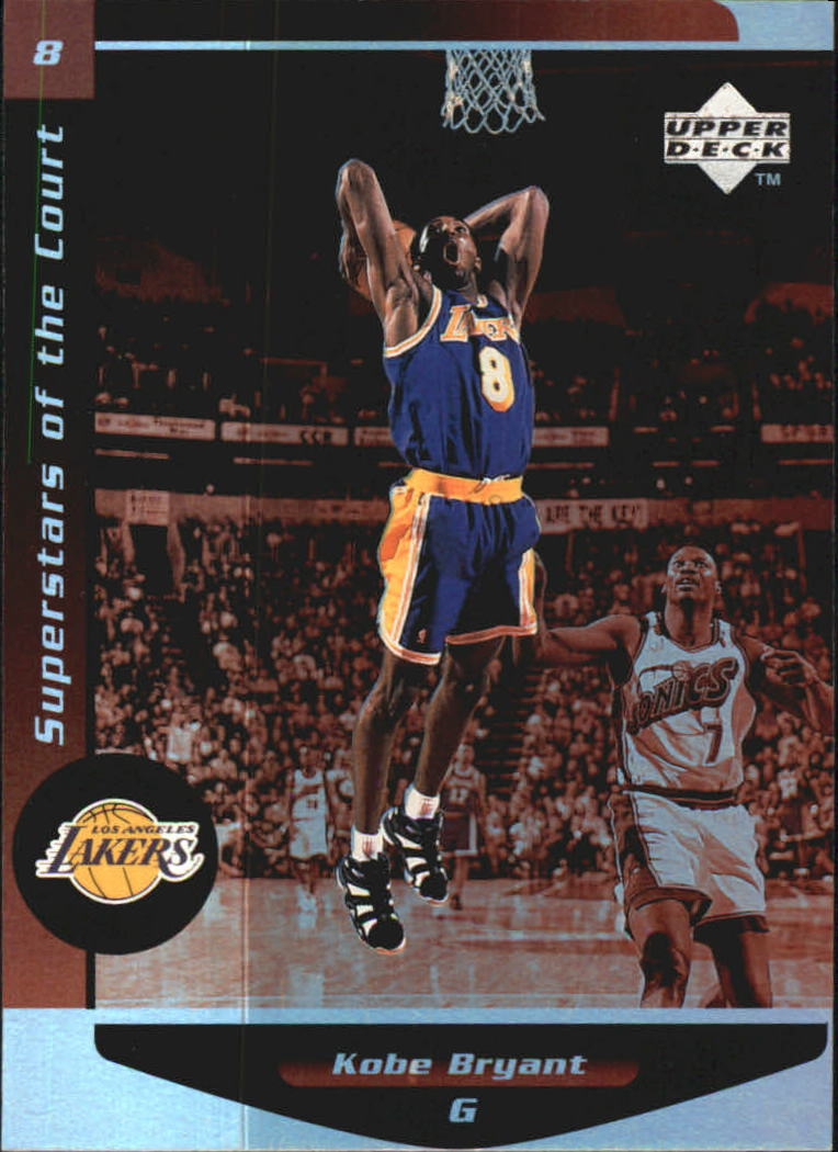 1998-99 Upper Deck Ovation Superstars of the Court #C8 Kobe Bryant