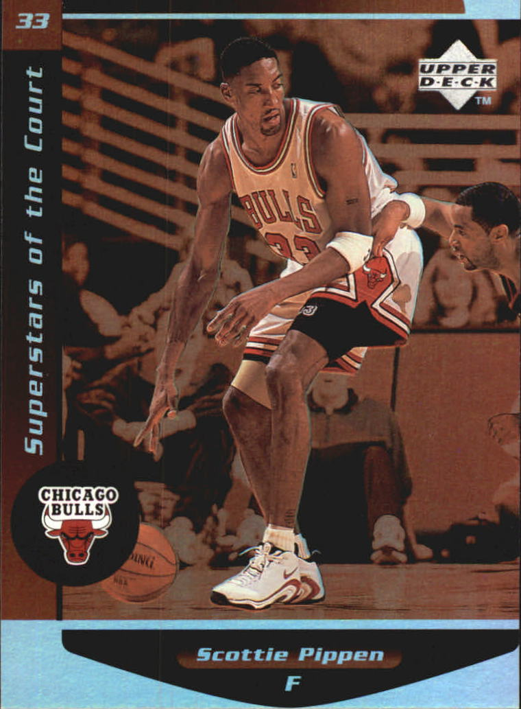 1998-99 Upper Deck Ovation Superstars of the Court #C14 Scottie Pippen
