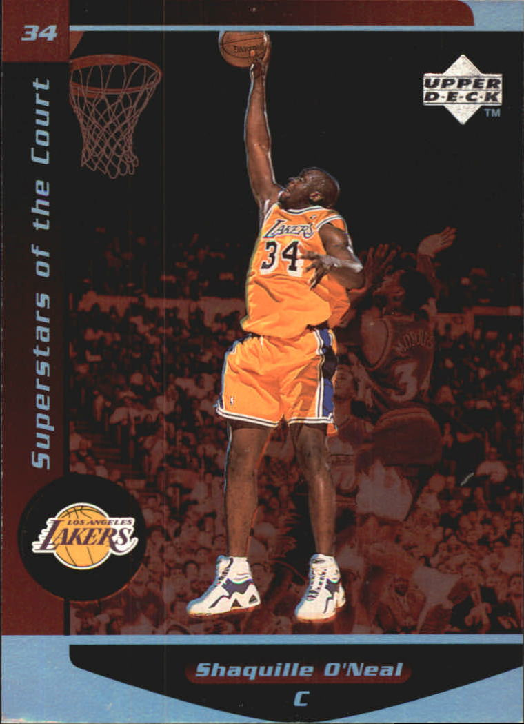 1998-99 Upper Deck Ovation Superstars of the Court #C16 Shaquille O'Neal