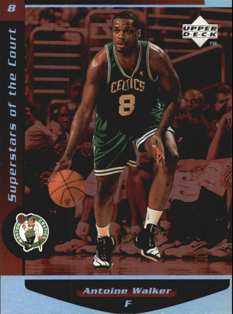 1998-99 Upper Deck Ovation Superstars of the Court #C20 Antoine Walker