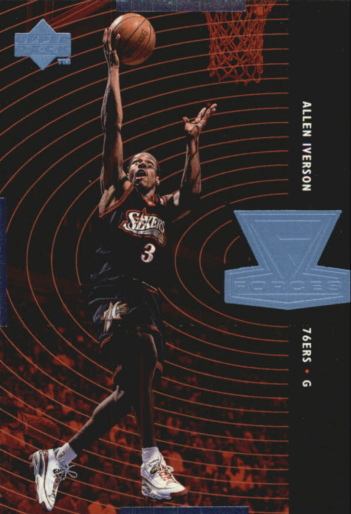 1998-99 Upper Deck Forces #F5 Allen Iverson