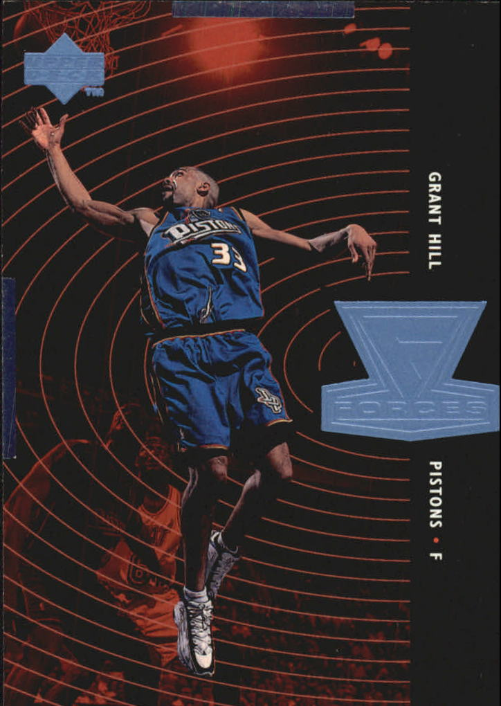 1998-99 Upper Deck Forces #F22 Grant Hill