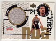 1998-99 Upper Deck Game Jerseys #GJ31 Tim Duncan