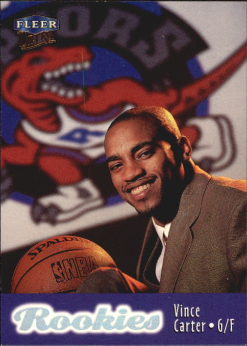 1998-99 Ultra #106 Vince Carter RC
