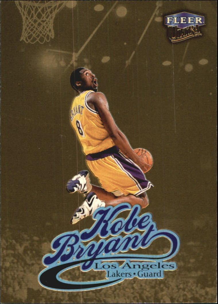 1998-99 Ultra Gold Medallion #61G Kobe Bryant