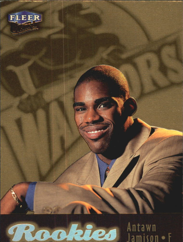 1998-99 Ultra Gold Medallion #123G Antawn Jamison