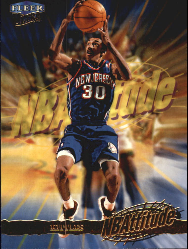 1998-99 Ultra NBAttitude #7 Kerry Kittles