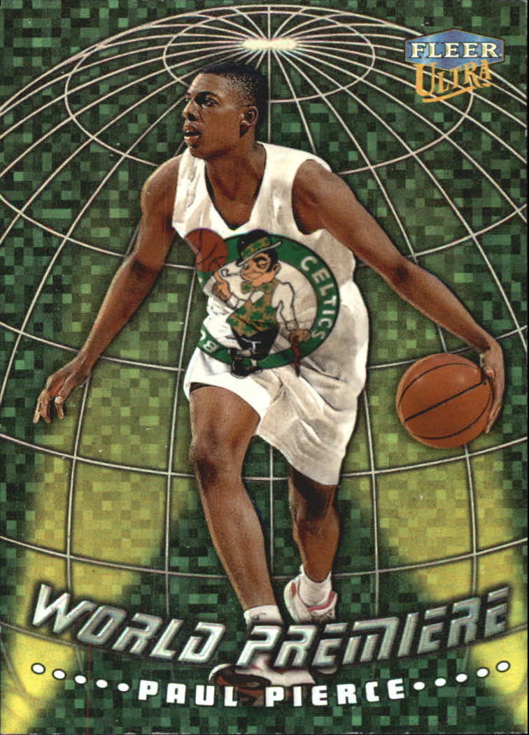 1998-99 Ultra World Premiere #2 Paul Pierce front image