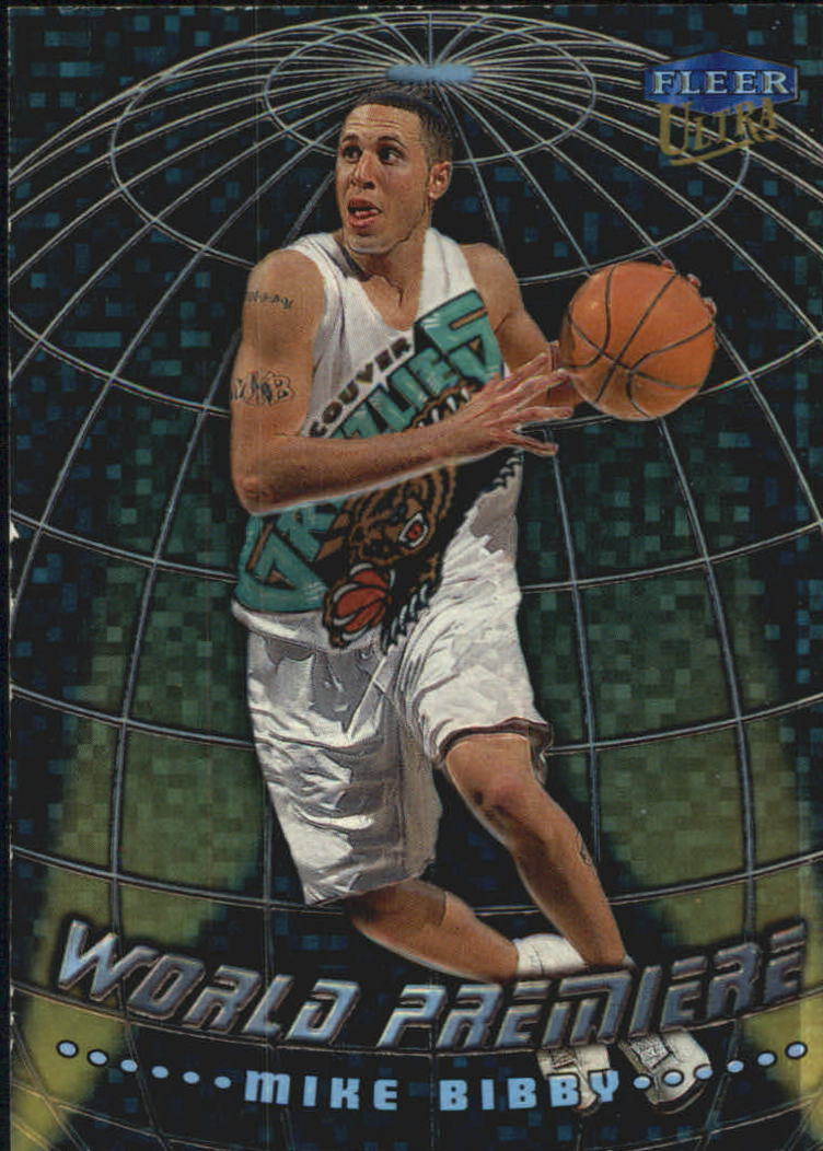 1998-99 Ultra World Premiere #15 Mike Bibby front image