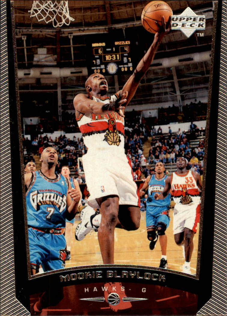 1998-99 Upper Deck #1 Mookie Blaylock