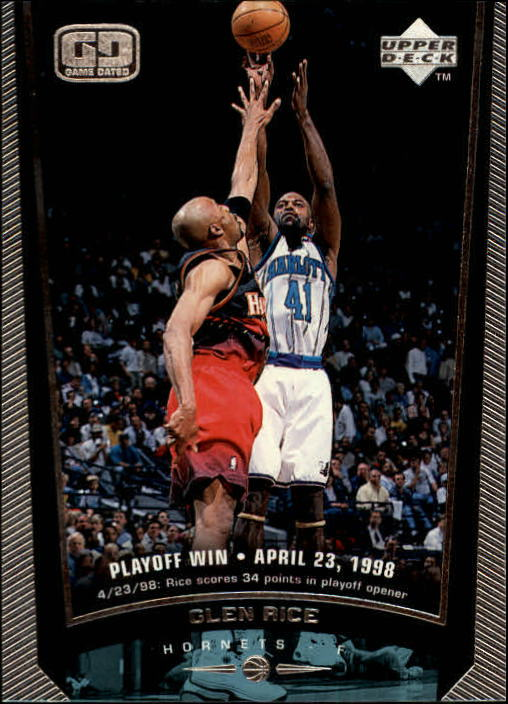 1998-99 Upper Deck #16 Glen Rice