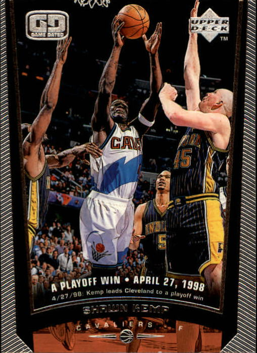 1998-99 Upper Deck #27 Shawn Kemp