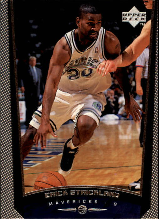 1998-99 Upper Deck #37 Erick Strickland