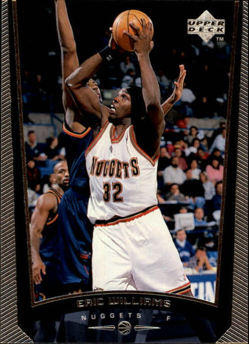1998-99 Upper Deck #41 Eric Williams