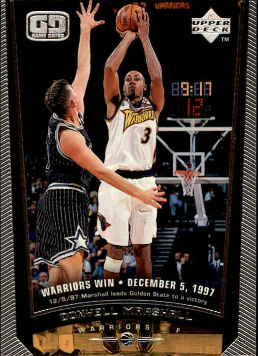 1998-99 Upper Deck #50 Donyell Marshall