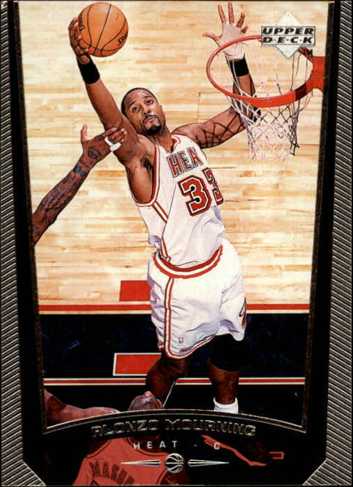 1998-99 Upper Deck #82 Alonzo Mourning