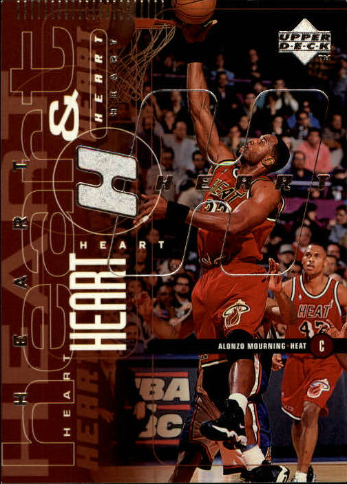 1998-99 Upper Deck #85 Alonzo Mourning/Tim Hardaway HS