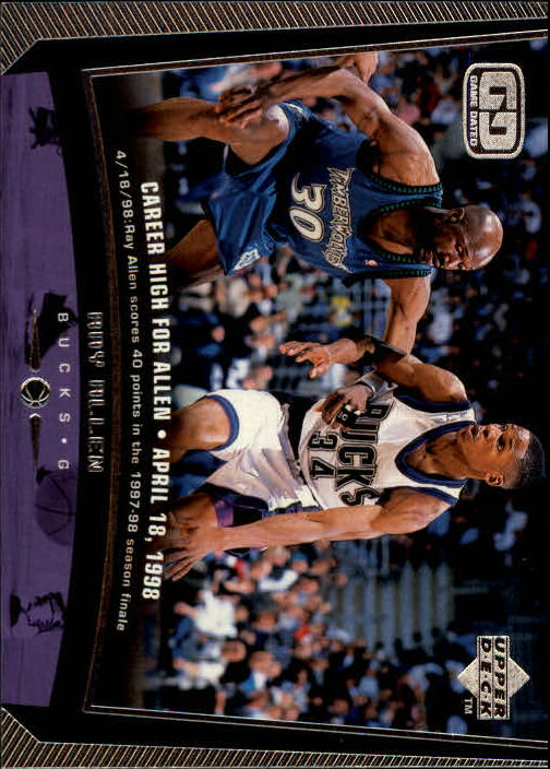 1998-99 Upper Deck #86 Ray Allen